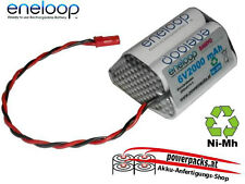 Empfänger-Antriebsakku , SANYO Eneloop 6V2000mAh 3x2 , Stecker frei wählbar...
