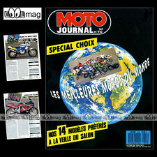 MOTO JOURNAL 910 APRILIA 125 RALLY RX PEGASO HONDA CB 750 FOUR CRM 125 CR 1989