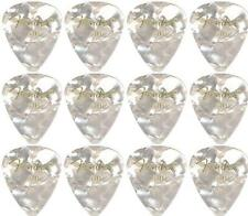 FENDER  Premium Celluloid Plectrums - Pack of 12 picks -  White - Thin.