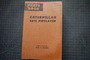 CAT Caterpillar 561C Pipelayer Part Manual Book Catalog spare index list 92J OEM