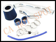 88-91 Honda Civic CRX Si EX 1.6 L4 COLD AIR INTAKE SYSTEM w/ FILTER - BLUE