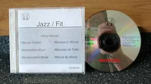 Honda Jaz/Fit '02-'03 Electronic Workshop Manual on 1 CD  Genuine Honda