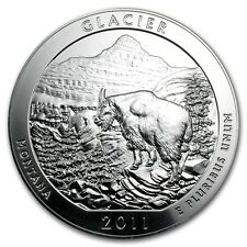 2011 5 oz Silver ATB Glacier National Park, MT - SKU #61840