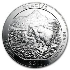 2011 5 oz Silver ATB Coin Glacier, MT - America the Beautiful - SKU #61840