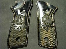 Taurus PT 92 99 Blackwood NAVY Checkered Pistol Grips w/Decock ONLY! NEW DESIGN