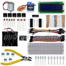 Electronic Components Kit Resistor Sensor LED Breadboard Servo for Raspberry Pi