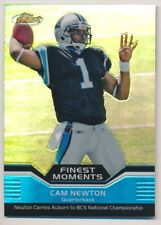 CAM NEWTON 2011 Topps Finest MOMENTS REFRACTOR RC PANTHERS