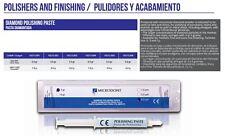 Microdont USA MU- 10213006 Diamond Polishing Paste, 6 g, 6 μ Ind. Syringe