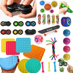 Fidget Toys Set Kit Sensory Tools Bundle Stress Relief Hand Kids Adults ADHD Toy