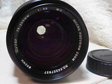 Vivitar 75-205mm F3.8 Pentax PK Fit Manual Focus 35mm SLR Zoom Lens