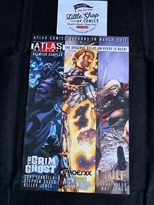 ATLAS ORIGINAL RETAILER SAMPLER (2011) #1 VF GRIM GHOST PHOENIX Atlas Comics