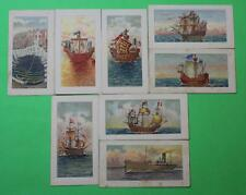 Vintage Cigarette Card Godfrey Phillips Evolution of the British Navy 1930 68