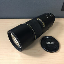 Nikon NIKKOR AF-S 300mm f/4 SWM D IF ED Lens - Aperture Ring Does NOT Work