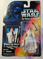 Star Wars Power of The Force (Red Canadian) Princess Leia Organa Action Figure