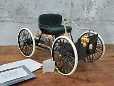 Franklin Mint 1896 Henry Ford Quadricycle 1:8 Scale Diecast Model First Ford Car