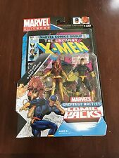 Marvel Universe CYCLOPS and DARK PHOENIX! Greatest Battles Comic Packs! Hasbro