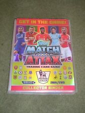 Topps Match Attax 2014-2015 album & complete base sets, 100 club, MOM, Duo ETC..