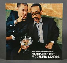 Rare Promotional 2 Sided Flat So.How's Your Girl? Handsome Boy Modeling School