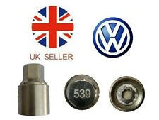 VW New Locking Wheel Nut Key With Letter W539