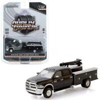 1//64 Dcp//Greenlight black//silver Ram 3500 crew cab pickup truck new in box
