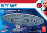 AMT 1/2500 Star Trek Enterprise D Snap Together Model Kit 1126M AMT1126M