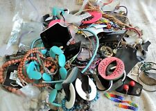 Vintage to Recent COSTUME JEWELRY GRAB BAG +3.5 LB! Necklace Bracelet Earring...