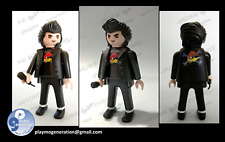 Playmobil custom LOQUILLO ROCK N ROLL (LOQUILLO Y LOS TROGLODITAS)