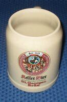 0,5 L Steingut Krug / Seidel / Beer Tankard - Sankt Georgen Bräu Kellerbier 1