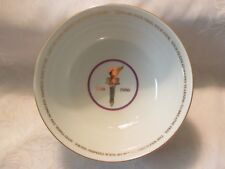 Avon Statue of Liberty Centennial Porcelain Bowl with Box
