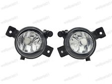 1Pair Clear Fog Light Driving Lamps 63177224643/644 For BMW X5 E70 LCI 2011-2013