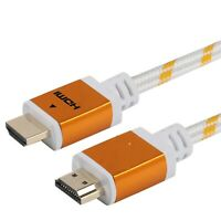 PREMIUM HDMI CABLE 6FT For BLURAY 3D DVD PS3 HDTV XBOX LCD HD TV 1080P WHITE