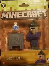 Minecraft - series 3-Witch Action Figure With Accessories - new-sealed