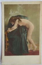 Erotik, Nackte Frau, Stuhl, ca. 1900 (22752)