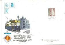 Sobre Entero Postal Edifil # 28 Exposición Filatélica Valencia 95