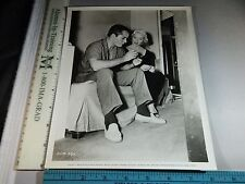 Rare Original VTG Jody Lawrance John Derek The Leather Saint Movie Photo Still