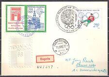 Poland 1968 -  Balloon Post Card