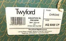 TWYFORD AQUATION SL PREMIERE 3 HOLE WALL MOUNTED BATH/SHOWER SET AQ5068 CP