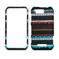 For Motorola Photon Q LTE XT897 Black Aztec Plane Case Hard Phone Cover