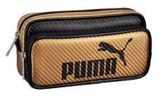 Kutsuwa Japan Pen Case Puma Pencil Pouch Large Capacity Stationery Kids Carbon