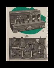 32 Watt Tube powered Amplifier 1946 How-to build Plans