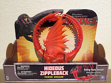 HIDEOUS ZIPPLEBACK How to Train your Power Dragon / Berk movie Toy Action Figure