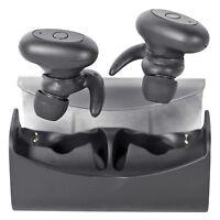 Rockville TRuRock True Wireless Bluetooth In-Ear Earphones Earbuds+Charging Case