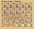 Panzer Leader Desert Italians Plan View Variant Counters