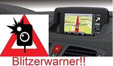 Renault Navigationsgerät Blitzerwarner Radarwarner immer Aktuell !NEU