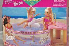 MATTEL #67558 BARBIE SPLASH 'N COLOR Crystal Clear Pool!! NRFB! 1996!!