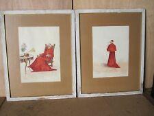 Tableaux Epoque 1900   aquarelles originales de François Joseph Girot