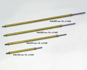 Krick ro1441 Stevenrohr/ 90+Welle M4x130 mm