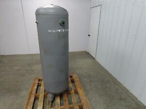 Industrial Vertical Air Receiver Tank 80 Gallon 20in Diameter 200 PSI