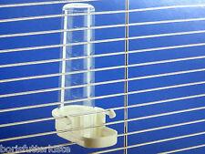 Wasserspender 2 Stk. Futterautomat 100 ml für die Querverdrahtung
