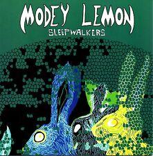"MODEY LEMON - SLEEPWALKERS - 7"" BLUE VINYL SINGLE - MINT"